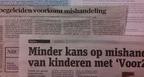 VoorZorg in krant