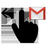 Gmail-app:<br>snelle veegacties